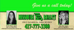 Missouri Home Farm & Land Realty